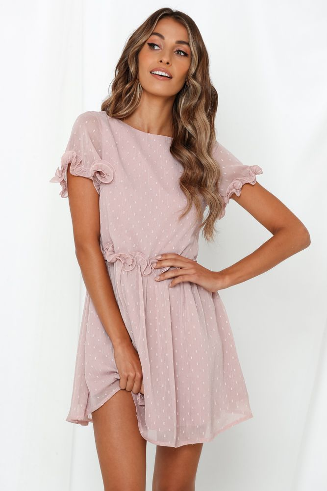 Dolly Days Dress Pink Pink Dress Short Pink Dress Casual Pink Dress Outfits