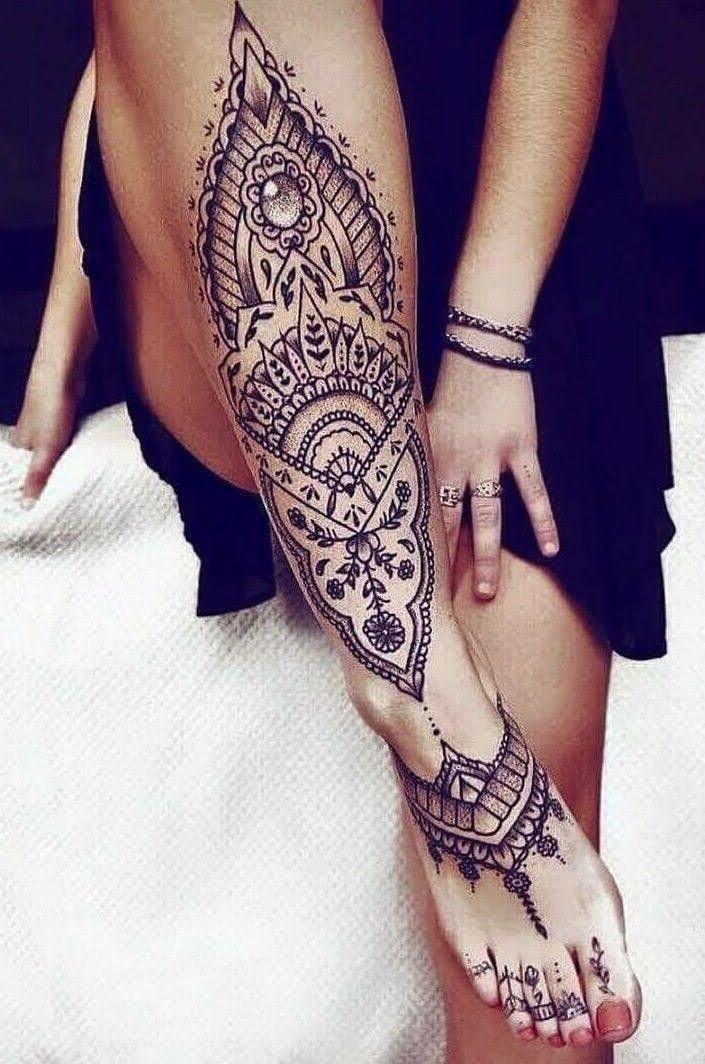 Pin de Berg Tatuagem em clientes (com imagens) | Tatuagem indiana, Tatuagem, Tatuagem na perna