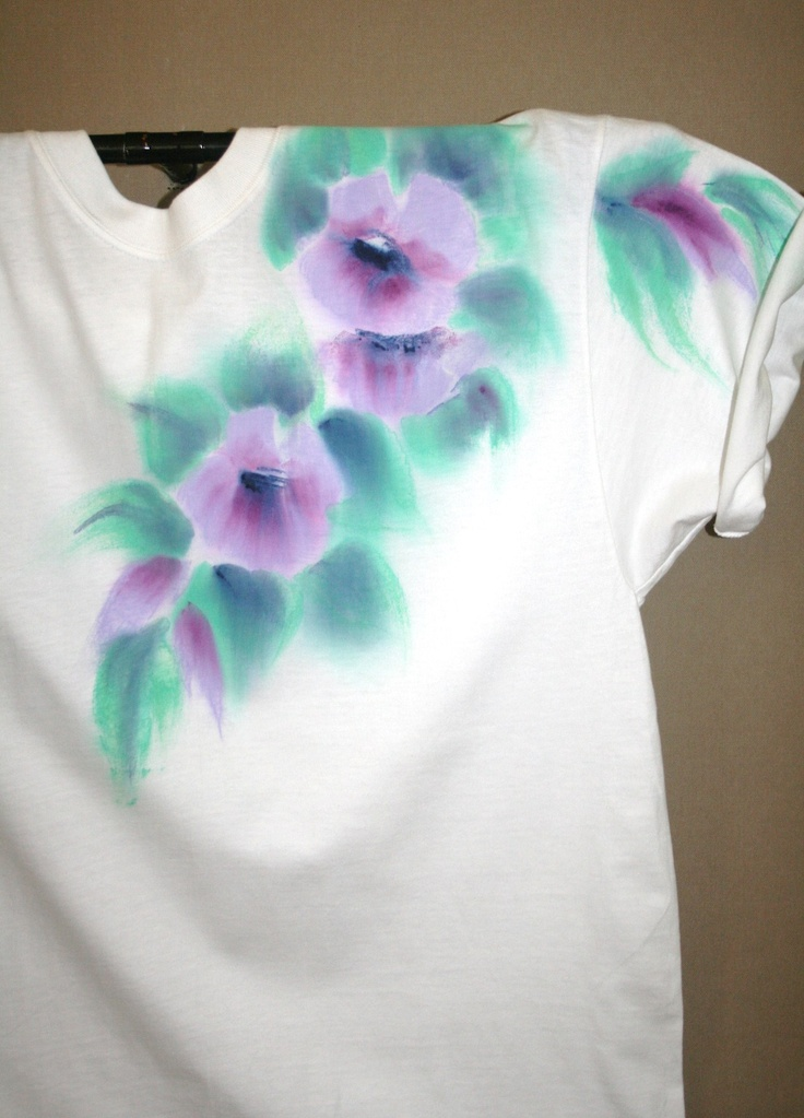 Hand Painted T Shirt $28