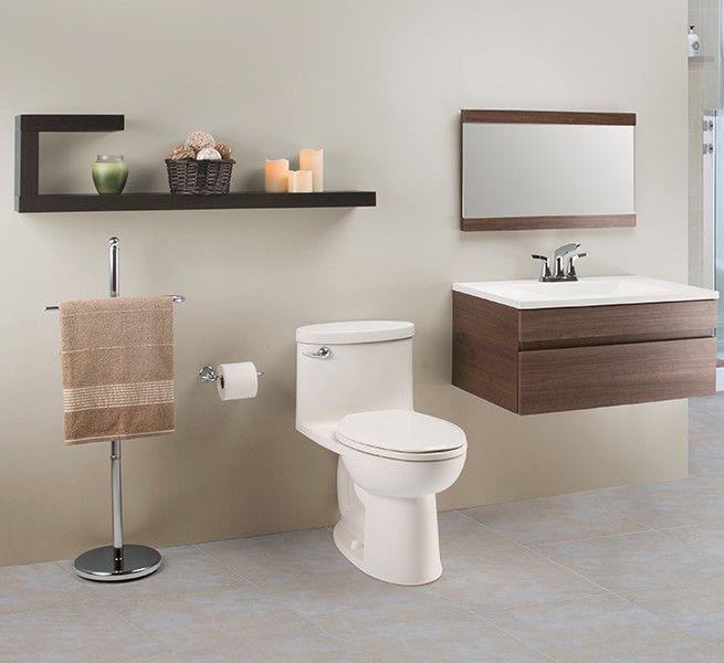 Un gabinete rectangular empotrable es la nueva tendencia en la decoración de baños pequeños modernos, son más cómodos y se adaptan mejor al espacio.