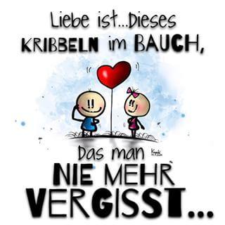 ❤️ #Liebe ist ... Dieses #Kribbeln im #Bauch ,das man #nie mehr vergisst... ☺️…
