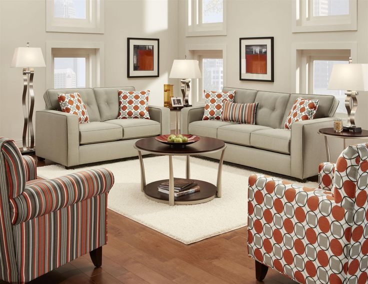 High Quality Fusion Living Room Set Part 29