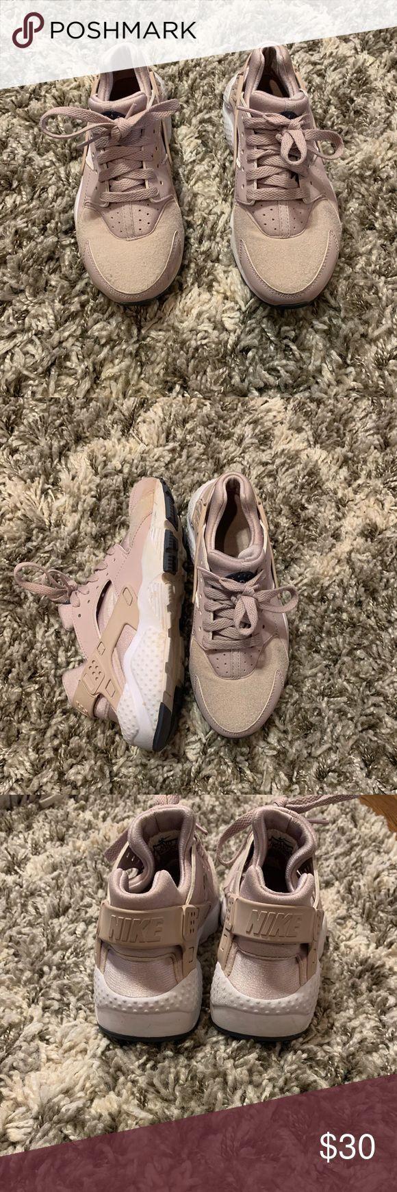 Nike Huarache Rose Gold Guter Zustand !! Nike Shoes Sportschuhe ...