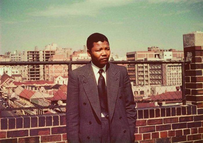 Нельсон Мандела, молодой юрист из Йоханнесбурга. 1953 год