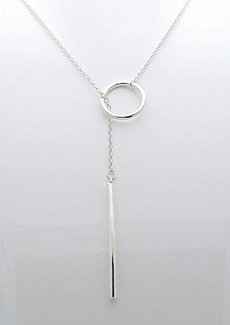 Best 25 long silver necklace ideas on pinterest silver bar beautiful long silver necklace ideas 23 aloadofball Image collections