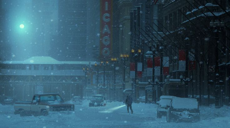 ArtStation - winternight, Rostislav Zagornov