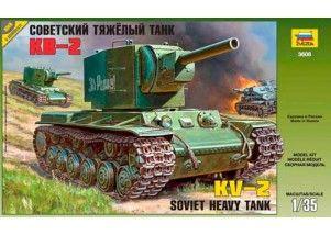 Carro armato KV 2 scala 1:35