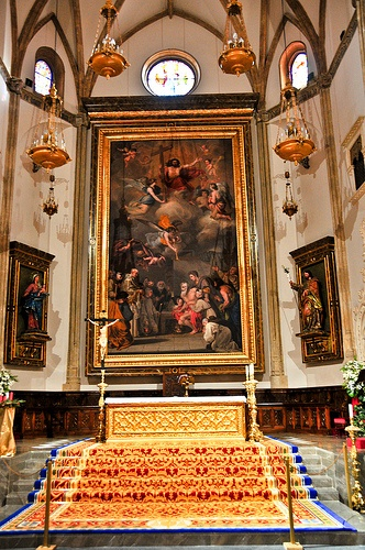 San Jerónimo el Real (St. Jerome Royal Church) is a Roman Catholic church from the early 16th-century in central Madrid, Spain.