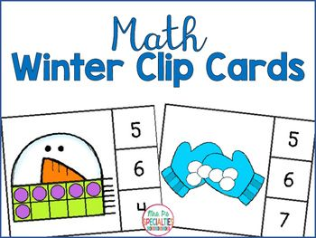 Reinforce and generalize number concepts with these FREE math clip cards. Students demonstrate their understanding of tens frames and sets by choosing the correct number from a set of 3. Included:*Snowman tens frame clip cards 0 to 10*Snowball sets clip cards 1 to 10