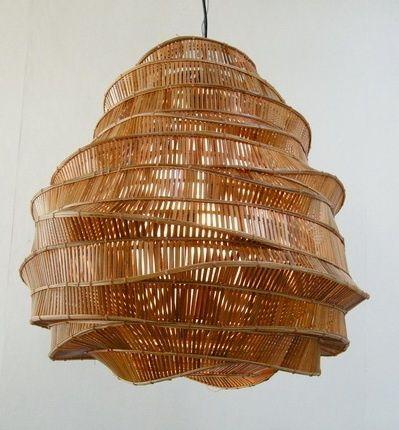 Bamboo woven shade
