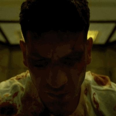 New trendy GIF/ Giphy. netflix daredevil bloody jon bernthal punisher look up convict. Let like/ repin/ follow @cutephonecases