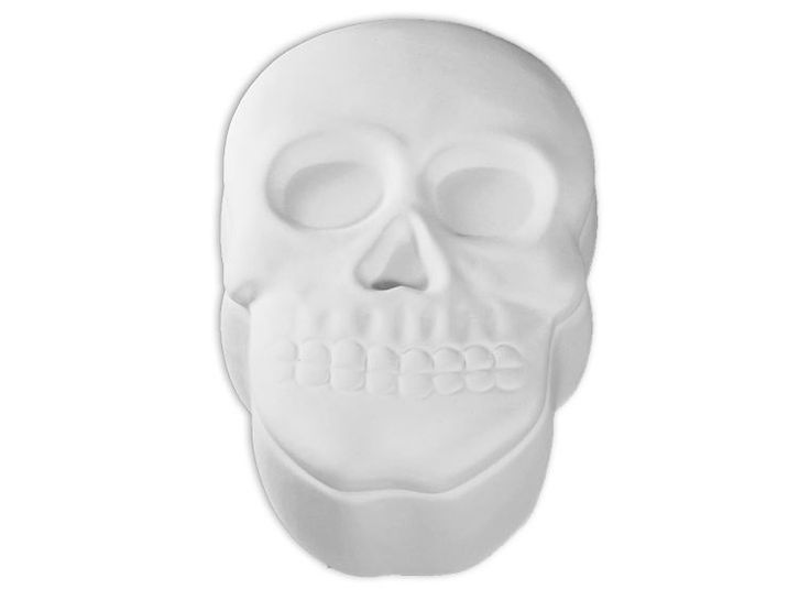 Skull Box - Paint Your Own Ceramic - Paint-a-Potamus