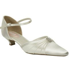 """#weddingshoes #trousseaubridalshoes #bridalshoes Low heel option!  Heel height: 3cm / 1.1"""" Material:  Satin. Check out www.trousseaubridalshoes.co.nz - worldwide shipping is available on our shoes, please contact us"""