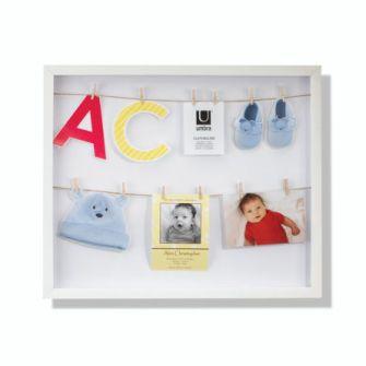 wall, photo displays & albums, clothesline shadowbox | Umbra