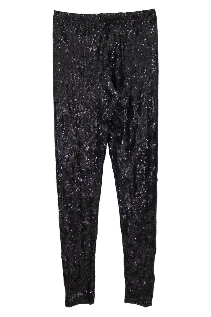 Sparkling black leggin by Pierre Balmain
