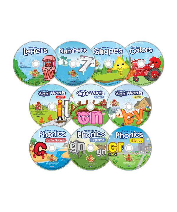 Preschool Prep 10-DVD Collection $59.99