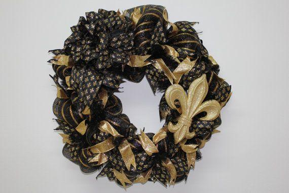 Fleur De Lis Wreath