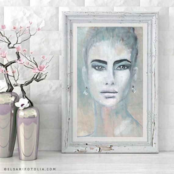 Sieh dir dieses Produkt an in meinem Etsy-Shop https://www.etsy.com/de/listing/460599324/portrait-grey-shades-print-painting