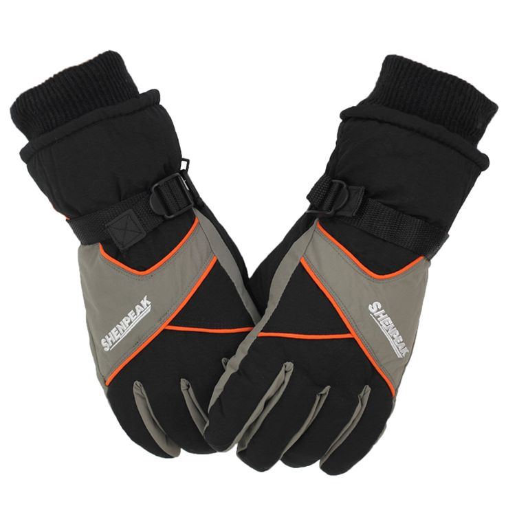 Ski Gloves Men Women Snowboard Gloves Snowmobile Motorcycle Winter Gloves Waterproof Snow Tactical Gloves Cross-country Skiing