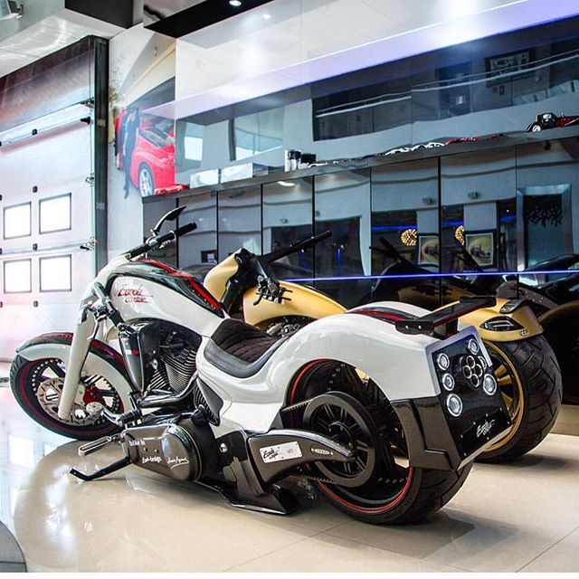 Pagani Zonda Cinque & MANSORY SLR Bikes In Bahrain