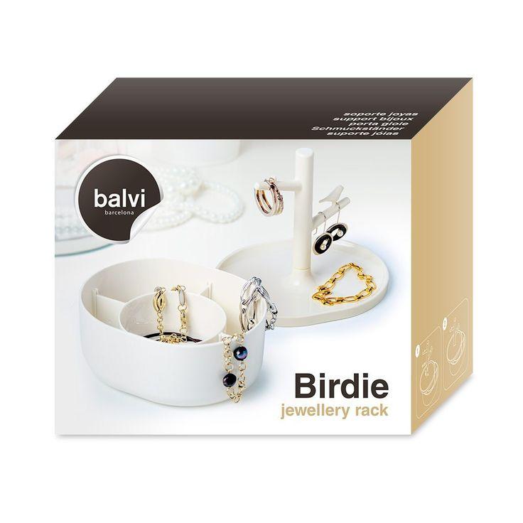 Balvi - Birdie portagioie. Con compartimento per anelli ...