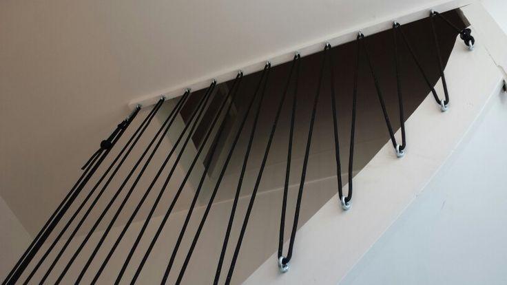 Rampe d'escalier DIY