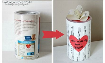 24 Ways to Reuse an Oatmeal Container