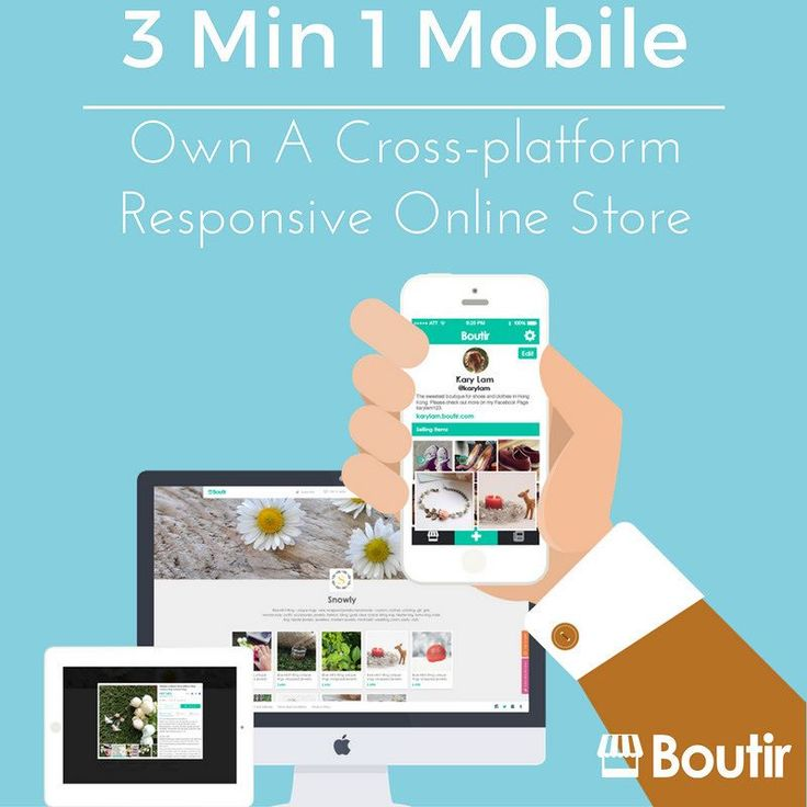 People don't just browse your store in front of a computer but also on their mobile phones and tablets. The cross-platform responsive online store builder Boutir helps you to facilitate different devices browsing your online store in a comfy and easy way!  Launch your own online store in 3 min right now! ================================= #shopping #onlineshop #shop#onlineshopping #instashop #love #photooftheday#picoftheday #ShoppingrollMY#shoppingroll…