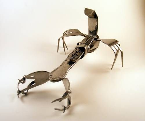 Cutlery Art By Chris Russell : theBERRY
