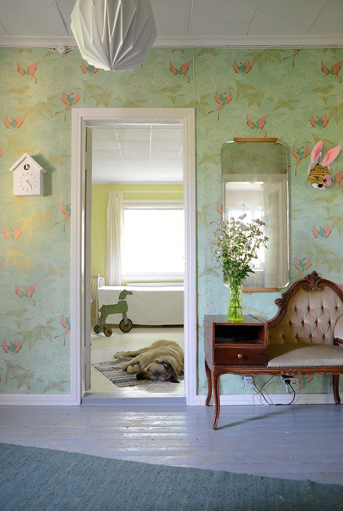 Grove Garden wallpaper by Osborne&Little on Kootut murut