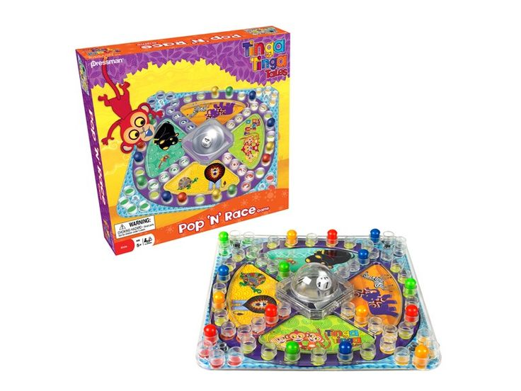 I LOVE Woot!    Tinga Tinga Tales Pop 'n' Race Game for $6