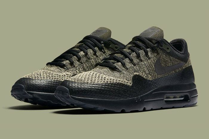 Nike Air Max 1 Ultra Flyknit (Olive/Sequoia)