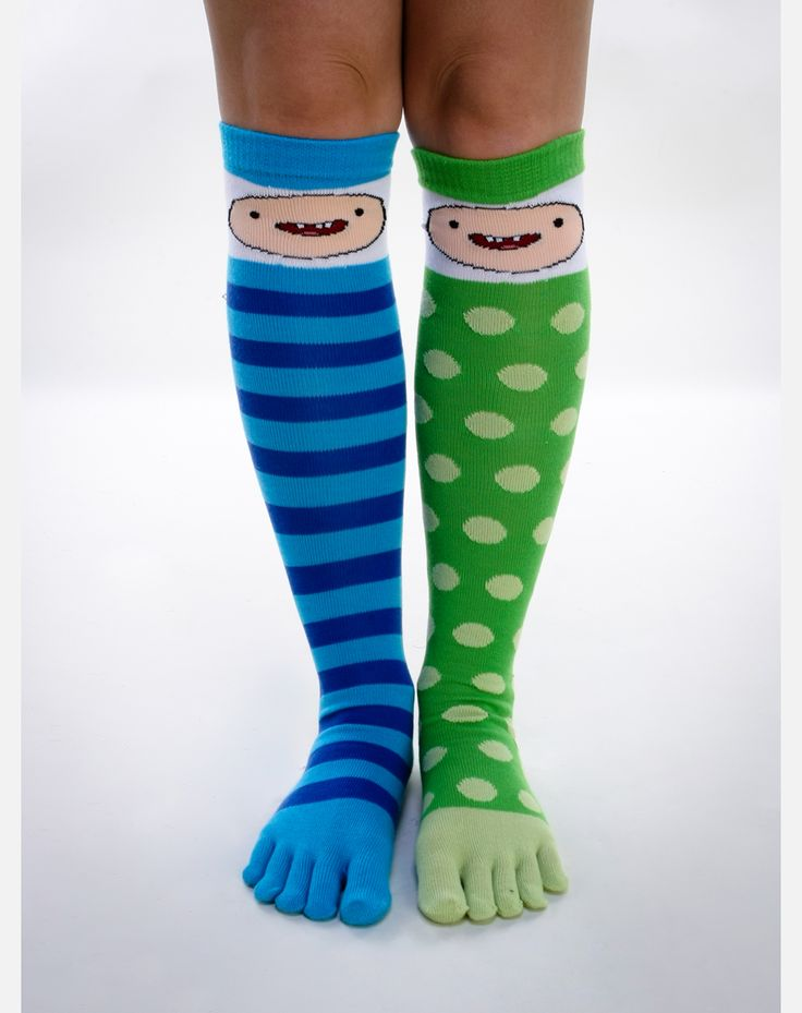 Adventure Time Finn Toe Knee High Socks - 49 Best Adventure Time Images On Pinterest