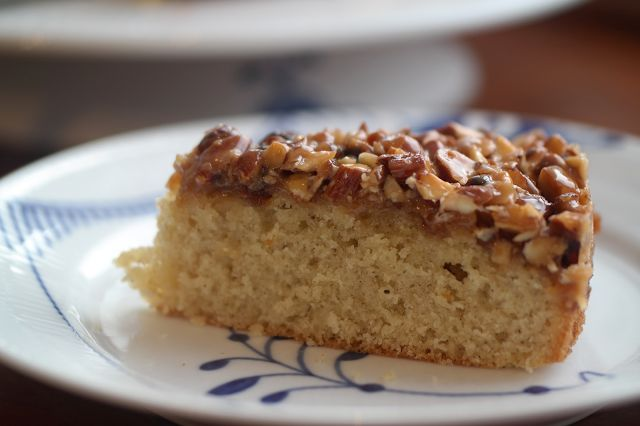 God mad og søde sager: Tosca kage