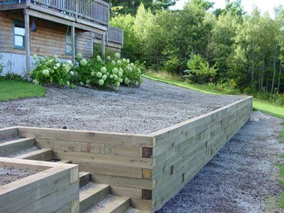 25+ Landscape Timber Garden Wall Pictures and Ideas on Pro Landscape
