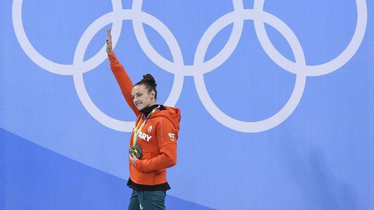 A 100 méteres női hátúszás döntőjében fantasztikus hajrával lett aranyérmes a magyar klasszis.