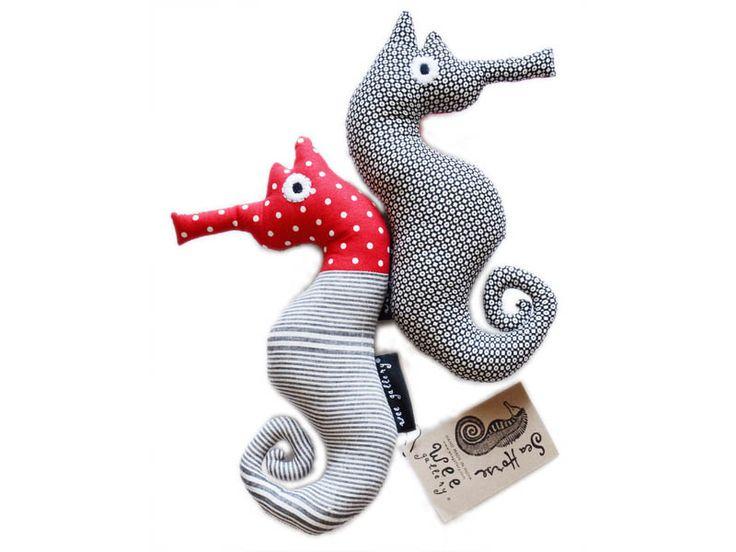 Red Wee Seahorse
