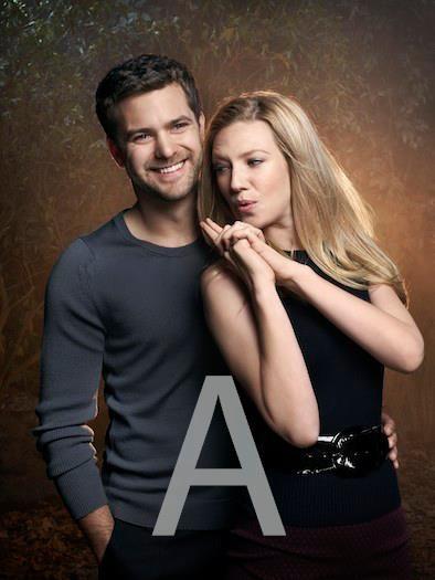 Anna Torv (Olivia Dunham) and Joshua Jackson (Peter Bishop) Fringe, tv series, show, great duo, portrait, photo