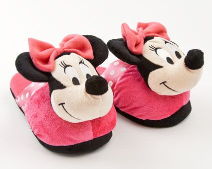Minnie Mouse Slippers | Character & Cartoon & Disney Slippers | BunnySlippers.com