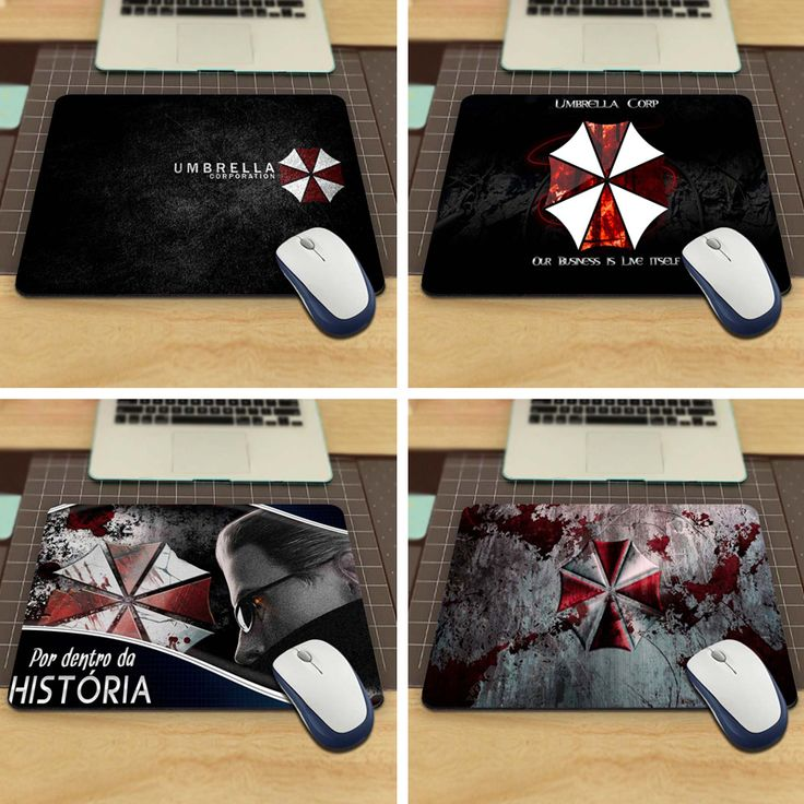resident evil umbrella corporation Mouse Pad Computer Gaming Mouse Pad Gamer Play Mats //Price: $8.99 & FREE Shipping //  #videogames #games #electronics #technology #tech #electronic