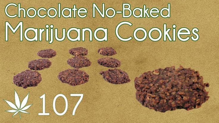 No Bake Cannabis Chocolate Cookies Cooking with Marijuana #107 (+playlist)