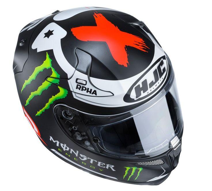 Caschi da moto Integrali HJC Helmets RPHA10 PLUS Lorenzo Replica III / MC-1SF