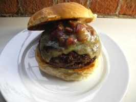 The Perfect Bacon-Mushroom Burger from CookingChannelTV.com