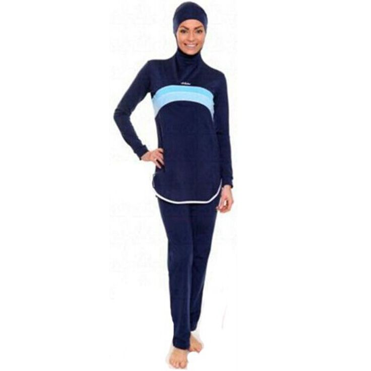 islamic swimsuit women Muslim Swimwear high waisted hooded bathing SwimSuits for women swimsuit female beach wear Girls Swimwear Sultan -- AliExpress Affiliate's Pin.  Find out more by clicking the VISIT button