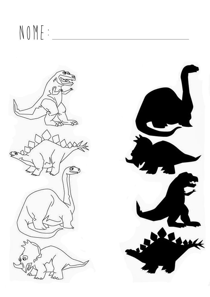 Proyecto dinosaurio (contar) https://www.pinterest.com/dsentimiento/