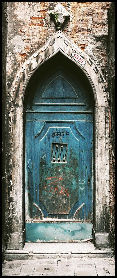 Venice Church Door Canvas Print / Canvas Art by Peter Aitchison