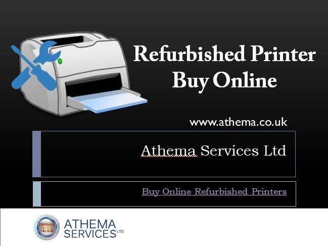 Refurbished Printer Buy Online - Athema Services Ltd  We are resellers for HP, Lexmark, Xerox, Epson and most major brands, we can supply printers from most of the big named Manufacturers, printers such as A4 Colour Laser Printers, A3 Colour Laser Printers, A4 Mono Laser Printer, A3 Mono Laser Printers, Inkjet printers, A1 Colour plotters, #A0ColourPlotters, #A4MultifunctionPrinters, #DotMatrixPrinters. 24 pin #DotMatrixPrinter UK, Ex demonstration computers.