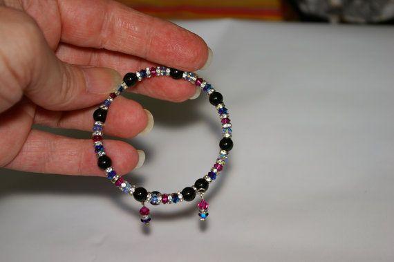 Swarovski jewelry set. Ring Bracelet Earrings.