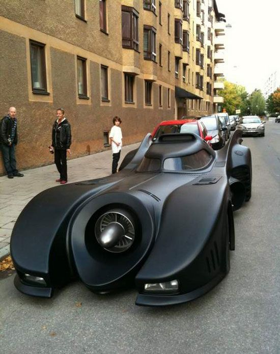 Real Batman Car, how often do you see this going down the road?