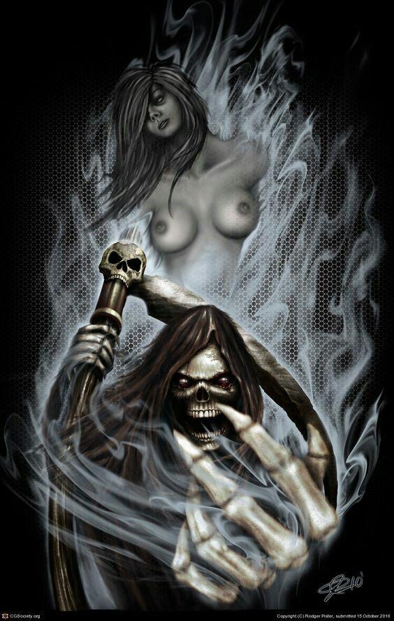 Nice grim reaper!